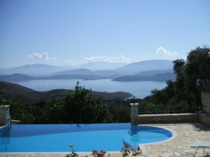 View from Corfu Villa