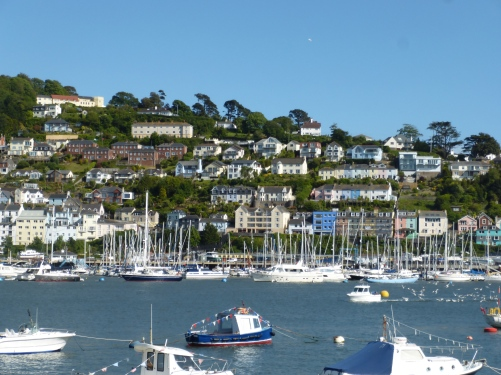 Kingswear across the estuary from Dartmoouth