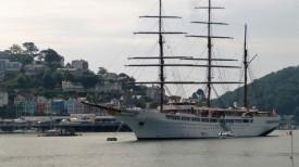German Cruise Ship in Dartmouth