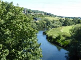 River Avon, Bathford Village
