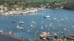 Fowey taken from Polruan