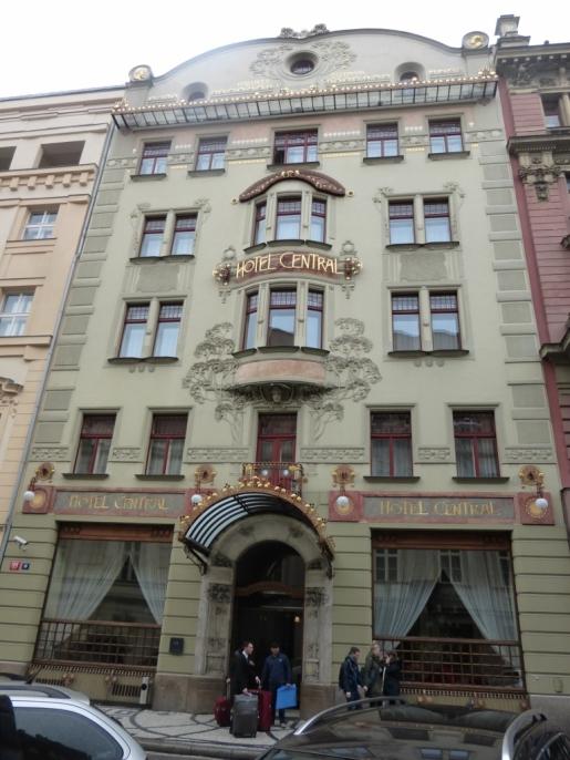 K + K Central Hotel, Prague