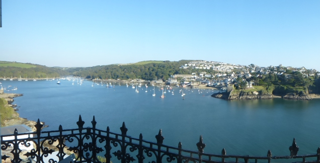 Fowey looking towards Polruan
