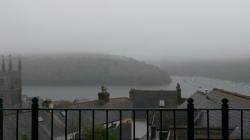 Fowey - with fog
