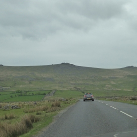 Grey Skies on Bodmin Moor