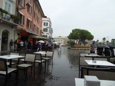 ON THE LAST DAY - RAIN!