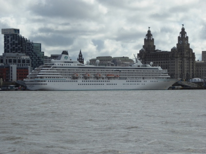 Liverpool & the Liver Building (right)