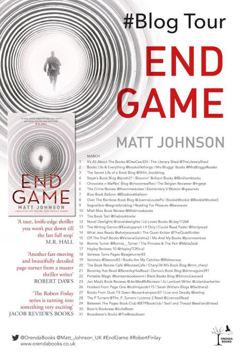END GAME TOUR LIST