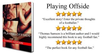 PLAYING OFFSIDE BOOK COVER