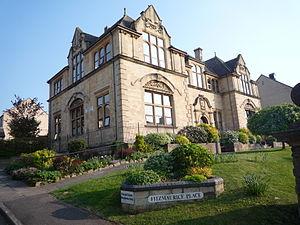 The former Fitzmaurice Grammar School,