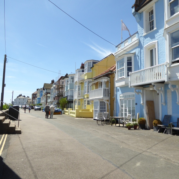 The Front at Aldeburgh