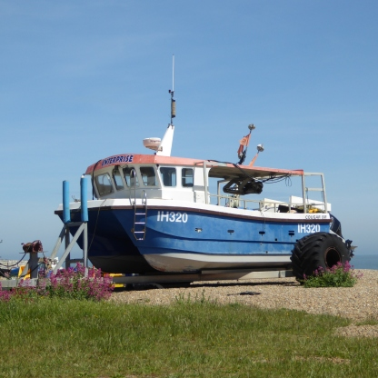 One of Aldeburgh's Fishing Boats