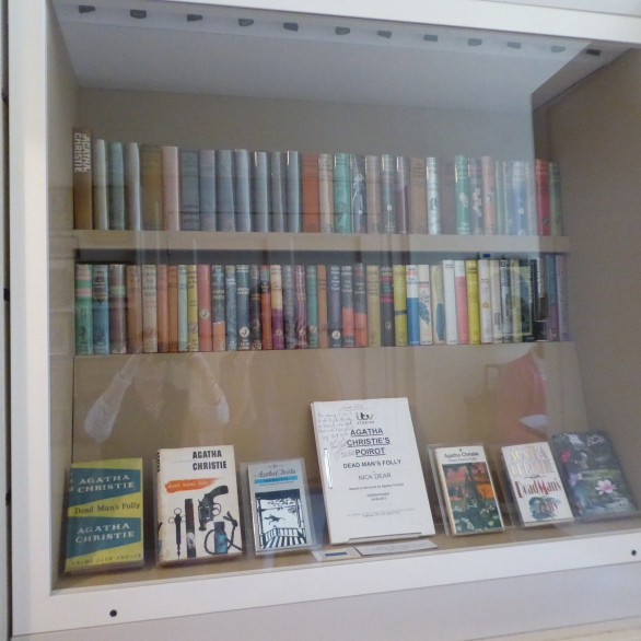 Agatha Christie's first editions and sample TV script