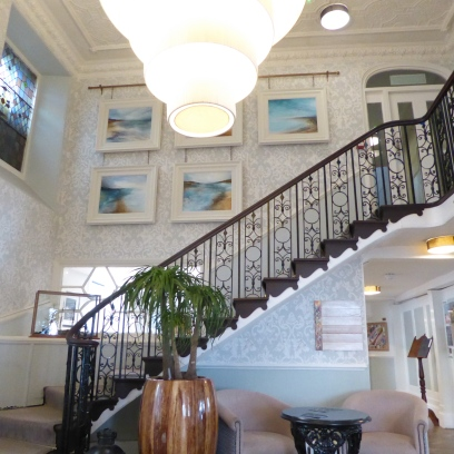 Main Staircase The Greenbank Hotel