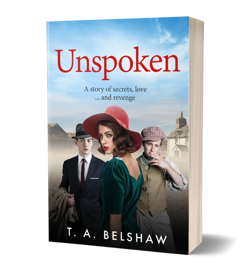 Unspoken Cover 3D
